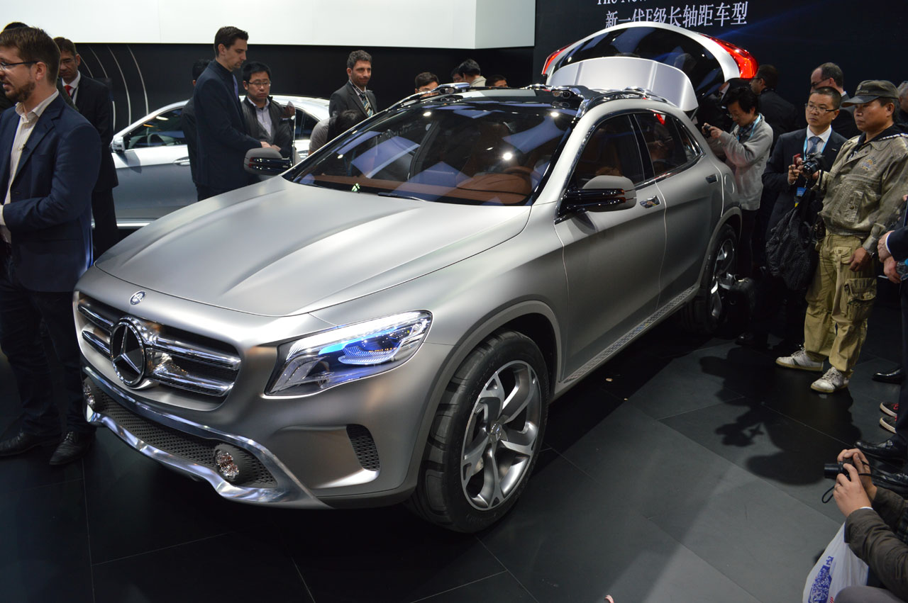000mercedes benz gla concept shanghai Mercedes Benz GLA Concept Gets a Warm Welcome in Shanghai