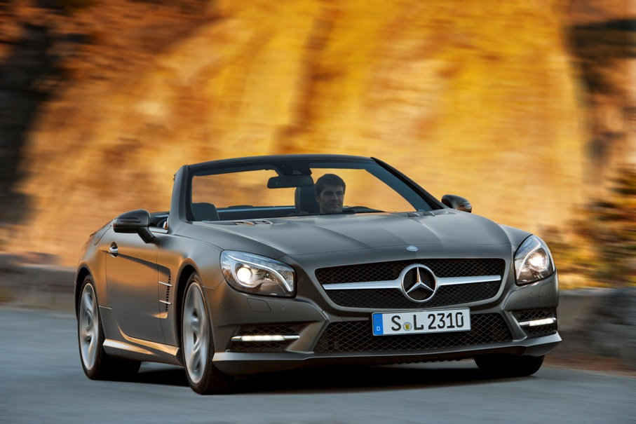 11C1090 377 New Features Coming To Mercedes Benz SL And SLK
