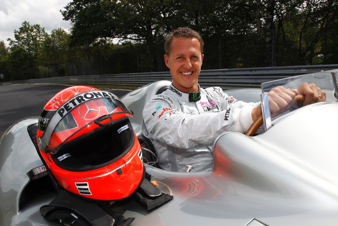 120 Michael Schumacher Goes Through Nürburgring On A Mercedes AMG F1 Car