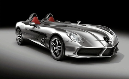 124 Chris Brown May Receive A 2009 Mercedes Benz SLR Stirling Moss For His Birthday