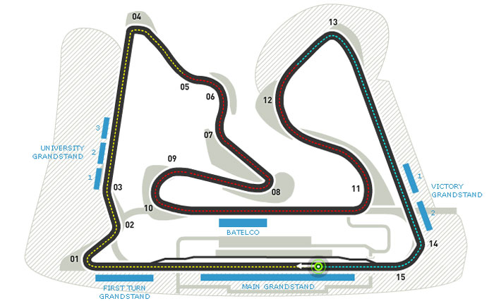 2013 Bahrain Grand Prix Mercedes F1 Team Gears Up for Bahrain GP