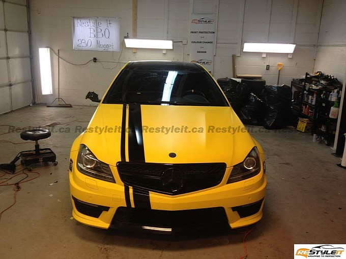 83 Restyle It Gives The Mercedes Benz C63 AMG A Makeover