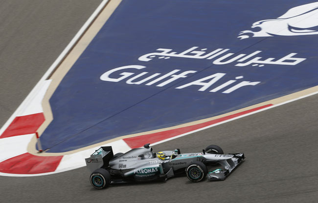 Mercedes AMG Petronas F1 Bahrain Grand Prix 2013 Raceday [F1] Hamilton Finishes 5th, Rosberg 9th in Bahrain GP