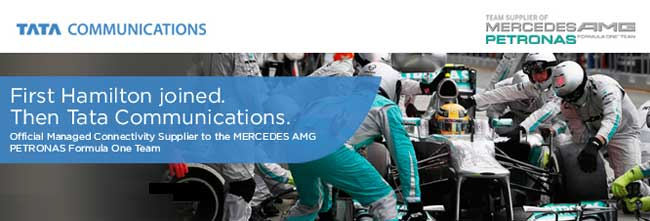 Mercedes-AMG-Petronas-F1-Partners-Up-with-Tata-Communications