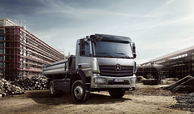Mercedes Benz Atego Daimler Trucks Targeting Number 1 Spot