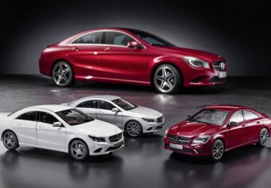 Mercedes-Benz-CLA-Scale-Model-Cars