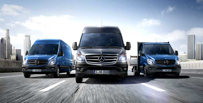 New Mercedes Benz Sprinter Van Meet the New and Improved Euro VI Compliant Mercedes Benz Sprinter