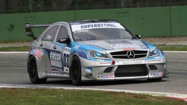 Thomas Biagi and Tonio Liuzzi Bag Wins for Mercedes