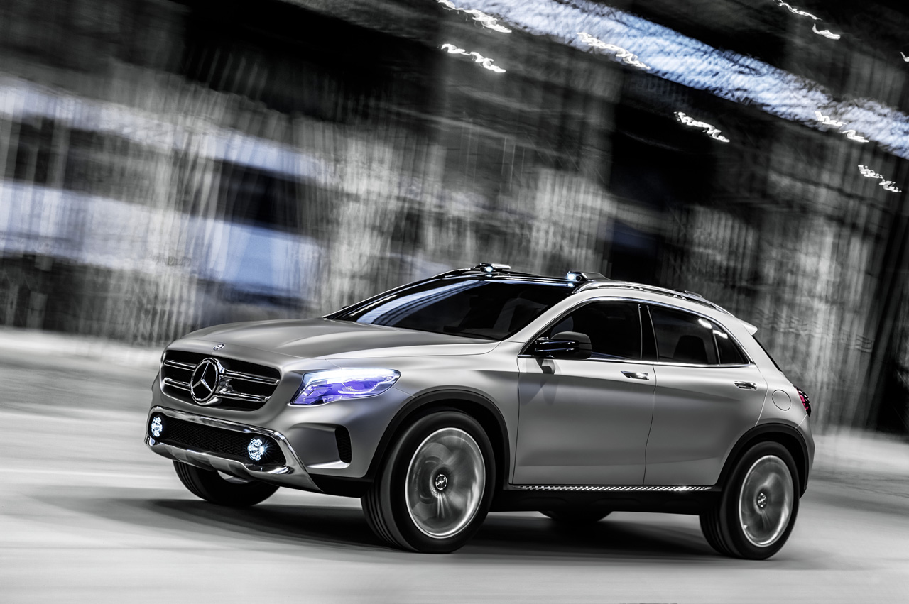 concept gla 1 Concept GLA Unveiled Before It Even Hits Shanghai