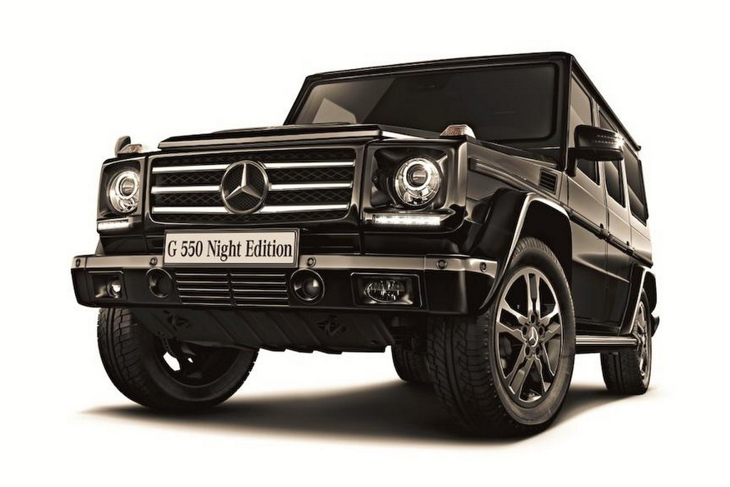 mercedes benz g550 night edition 01 Mercedes Benz G550 Night Edition Revealed To Be Just For The Japanese Market