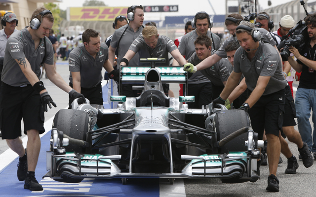 mercedes Mercedes Benz To Focus More On Their 2014 F1 Car