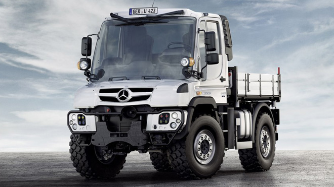 new unimog 2 660 Unimog Gets A Facelift And An Engine Boost