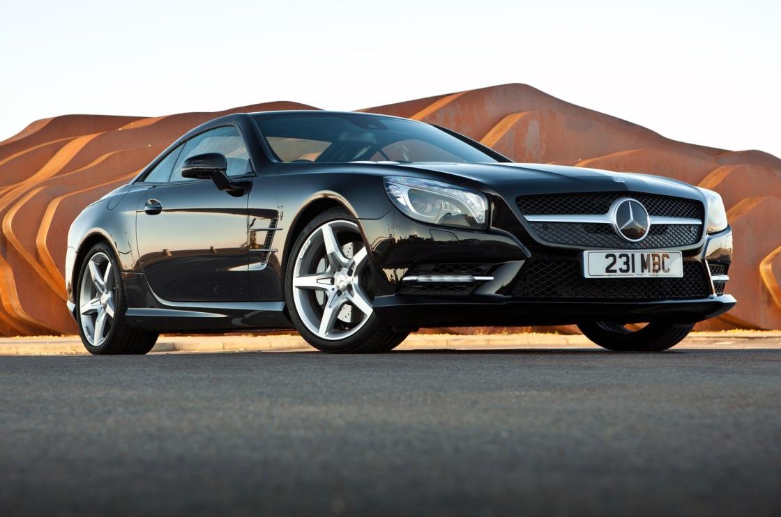 Mercedes Benz Sl Models Receives Amg Treatment