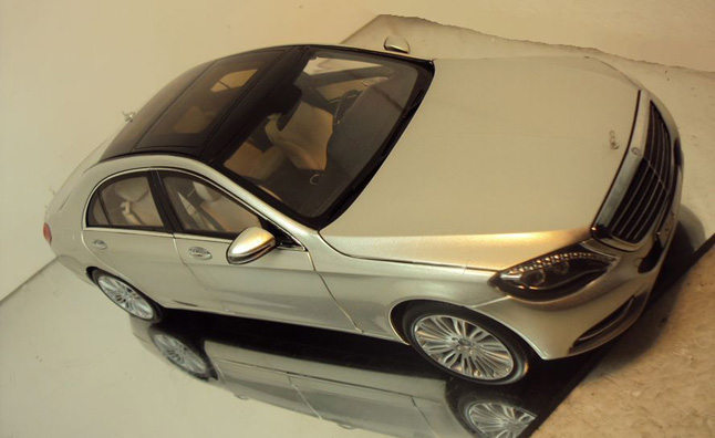 114 Images Of Scale Model Of New Mercedes Benz S Class Emerge