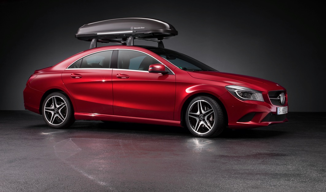 12 Genuine Accessories For The New Mercedes Benz CLA Revealed