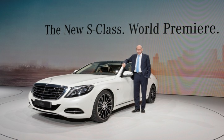 world premiere of the new mercedes benz s class. Black Bedroom Furniture Sets. Home Design Ideas
