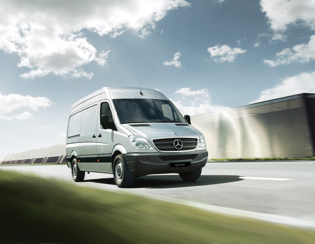"12C1219 01 Mercedes Benz Sprinter Wins ""Van Of The Year 2013"" Distinction In Russia"