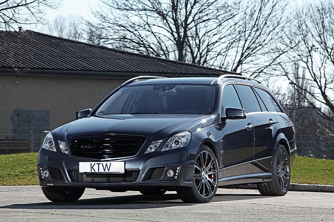 13 Body Kit Upgrade For Mercedes Benz E Class Wagon Unveiled