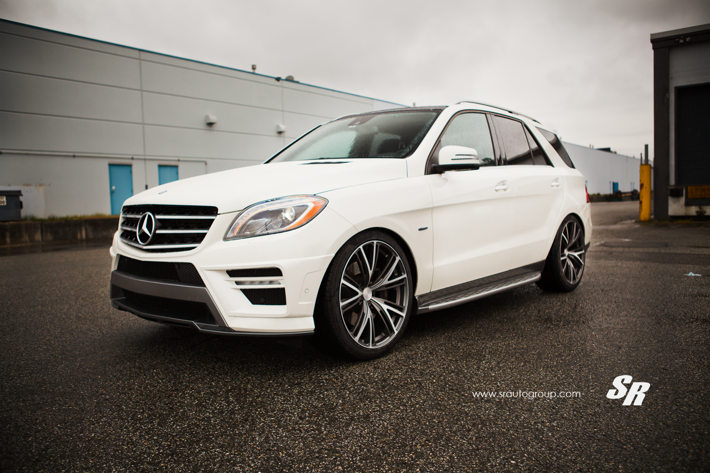 136 SR Auto Group Gives A Mercedes Benz ML 550 The Royal Treatment