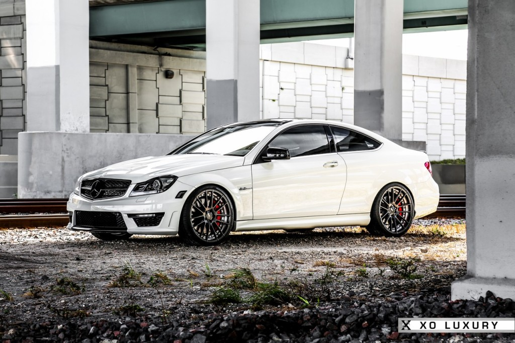 Mercedes Benz C63 Amg Enhanced By Mode Carbon