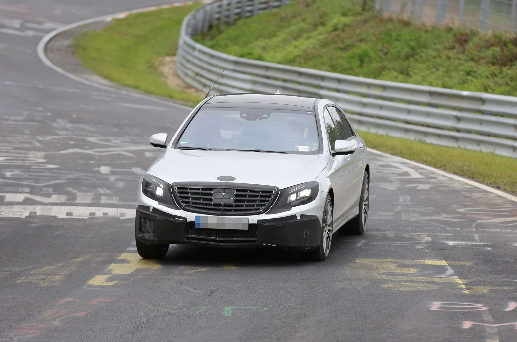 139 Spy Shots Of 2014 Mercedes Benz S63 AMG Emerge