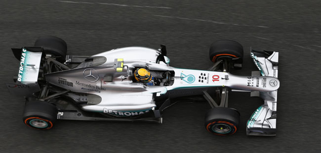 2013 Mercedes AMG Petronas F1 W03 [F1] Mercedes Needs to Manage Growing Gap in Standings