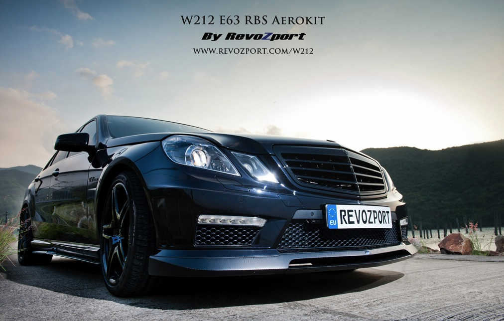 228 RBS Aerokit Released For Mercedes Benz E63 By Revozport
