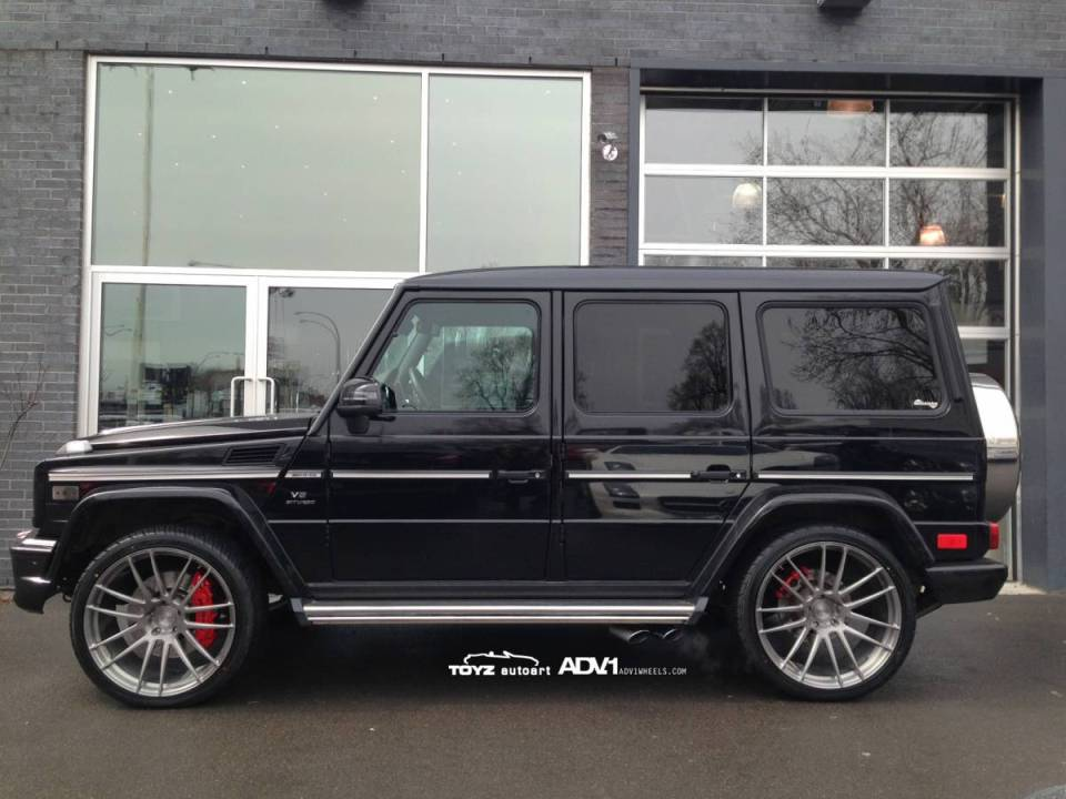 advance one gifts mercedes benz g63 amg with new wheels. Black Bedroom Furniture Sets. Home Design Ideas