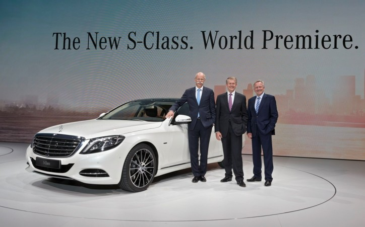 The new Mercedes-Benz S-Class. World Premiere. Hamburg 2013