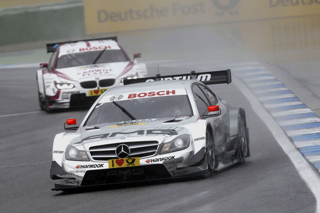 Christian Vietoris DTM 2013 Mercedes AMG C Coupe Hockenheim [2013 DTM] Vietoris, Wickens Secure Second Row for Mercedes Benz at Season Opener