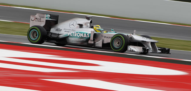 F1 2013 Spanish Grand Prix Mercedes AMG Petronas Lewis Hamilton [F1] Mercedes with Mixed Results in Spanish GP Free Practices