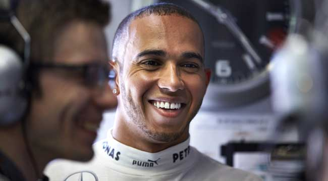 Lewis Hamilton Mercedes AMG Petronas F1 [F1] Hamilton on Mercedes Tire Test Controversy and Vettels Comments