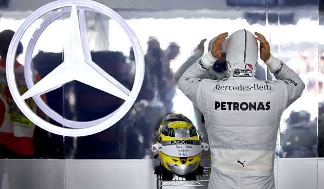 Mercedes AMG Petronas F1 Prepares for Spanish Grand Prix [F1] Mercedes Prepares for Spanish Grand Prix
