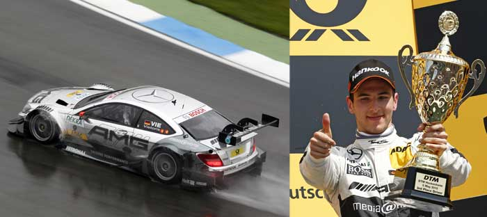 Mercedes Benz Christian Vietoris DTM Maiden Podium Finish Hockenheim [DTM] Vietoris with Podium Finish, Paffett Fourth for Mercedes Benz