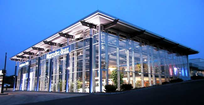 Mercedes Benz Dealerships Germany Daimler Daimler to Sell Four German Mercedes Benz Outlets in Cost Cutting Move