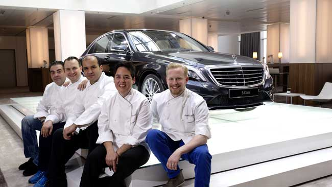Mercedes Benz S Class Launch with Top German Chefs The New Mercedes Benz S Class and The Taste of Luxury