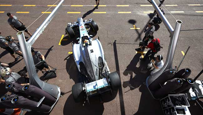 Mercedes F1 Tire Testing Controversy [F1] Mercedes Faces Outcry over Secret Tire Tests