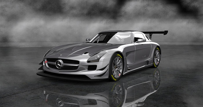 Sony Gran Turismo 6 Mercedes Benz AMG 3 New Mercedes Benz AMG Models Set for New PS3 bound Gran Turismo Game