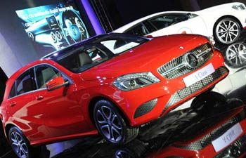 a mercedes story 350 053013020110 A Class Launching in India Pushes Through, Prices of the New Car Revealed