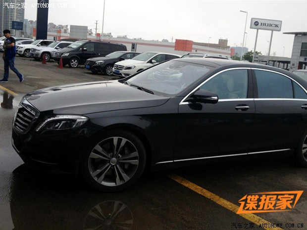 mercedes benz s class china test 1 New Mercedes Benz S Class Spotted in China