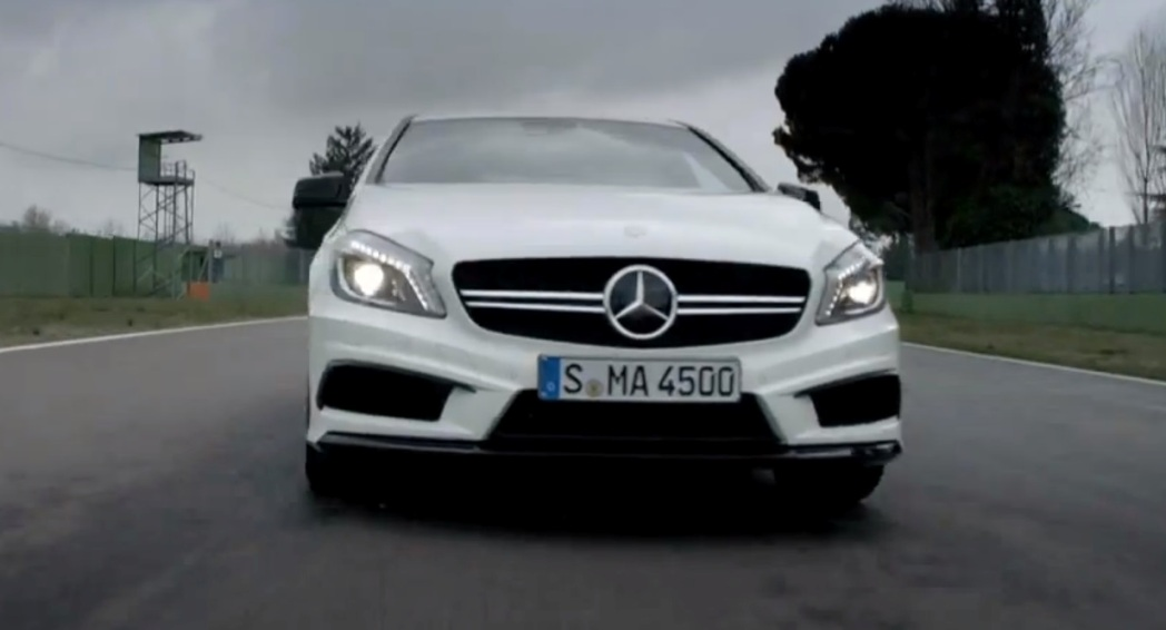 112 Video Highlights Performance Of The Mercedes Benz A45 AMG