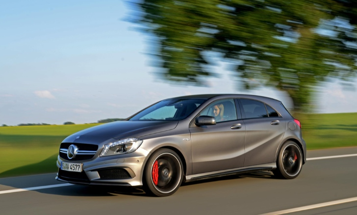 115 Orders For Mercedes Benz A45 AMG Accepted In The UK Market