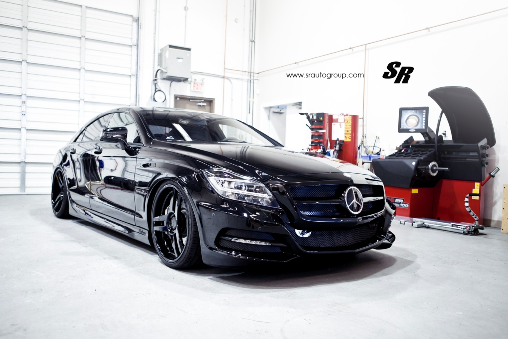 120 Mercedes Benz CLS Given A More Menacing Appearance By SR Auto