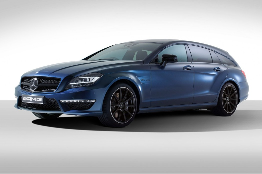 125 Mercedes Benz CLS63 AMG Shooting Brake by Spencer Hart Unveiled