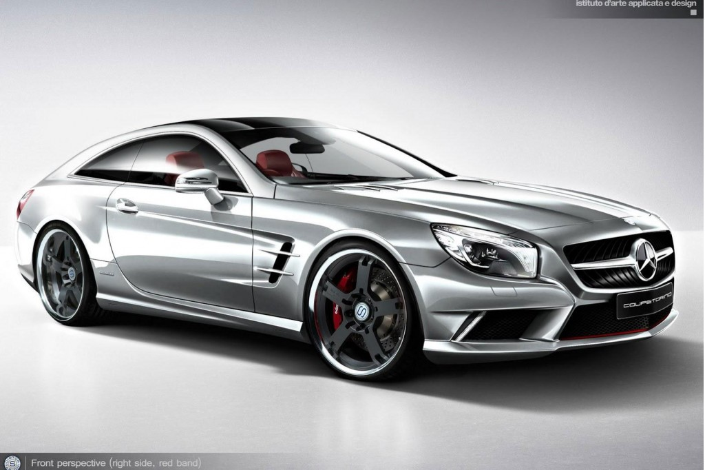 129 Concept Model For Mercedes Benz SL Produced By Design Students