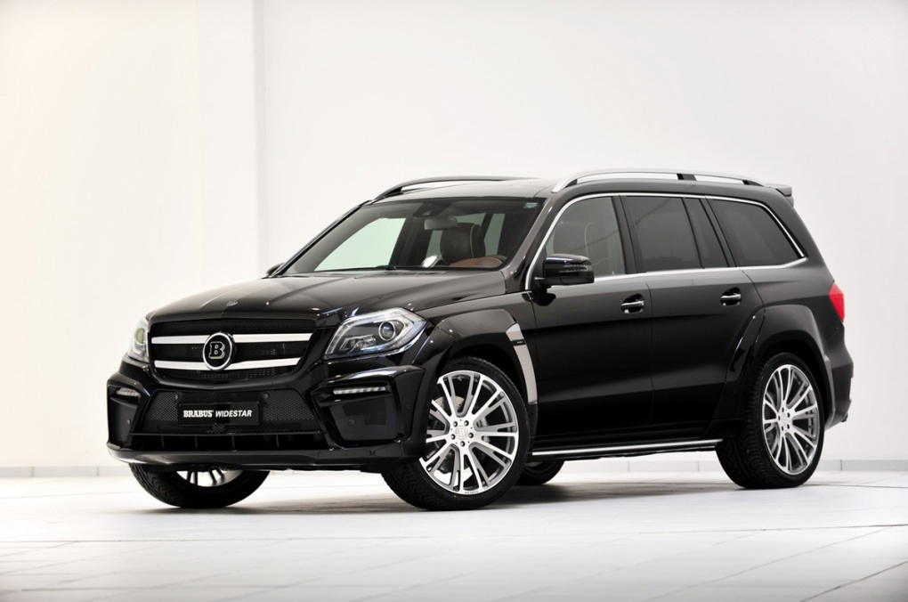 13 Mercedes Benz GL63 AMG Given A Makeover By Brabus