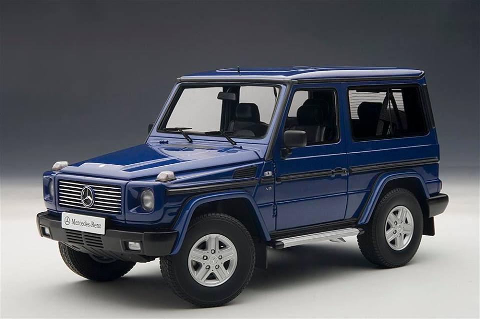 17 AUTOart Release New Color Option For Mercedes Benz G Class Scale Model