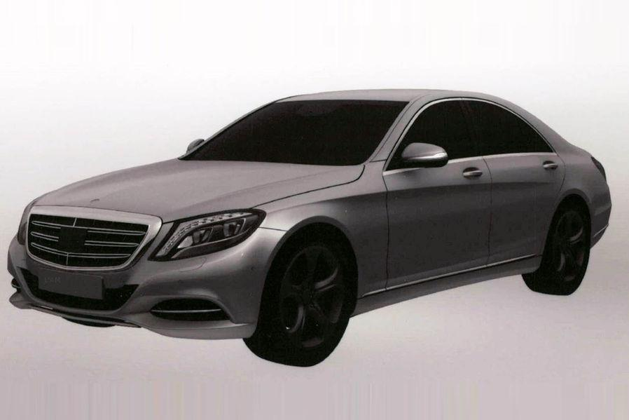 18 Patent Images Of Mercedes Benz S Class Plug In Hybrid Emerge