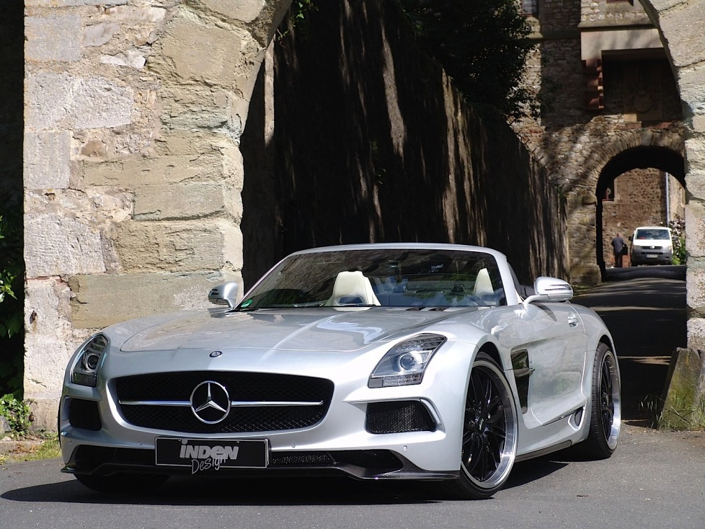181 Inden Design Pimps Up The Mercedes Benz SLS AMG Roadster