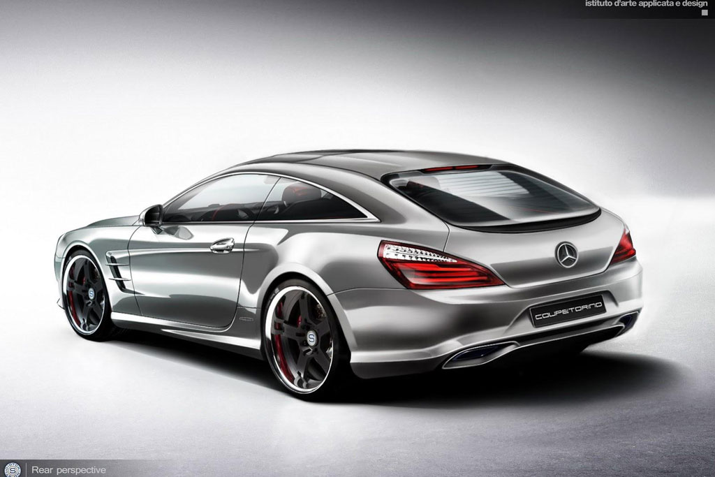Concept model for mercedes benz sl produced by design for Best looking mercedes benz models